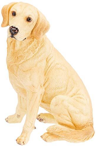 Design Toscano Golden Labrador Retriever Dog Garden Statue, 15 Inch