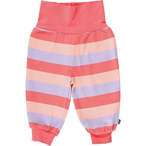 Fred'S World By Green Cotton Multi Stripe Pants Pantalon, Multicolore (Coral 016164001), 74 Bébé Fille