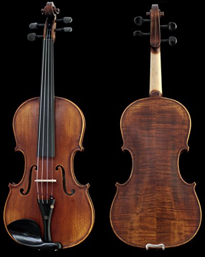 Sky Guarantee Maestro Sound 4/4 Size Professional Hand-made 4/4 Full Size Satin Acoustic Violin Antique Style