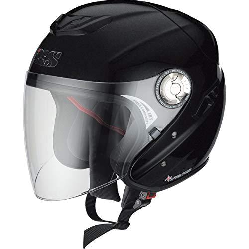 IXS Motorradhelm, Halbschalenhelm, Jethelm HX 91 Mattschwarz XS, Unisex, Chopper/Cruiser, Ganzjährig, matt schwarz