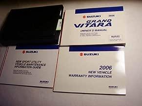Best suzuki grand vitara owners manual Reviews
