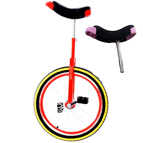 Yxxc Unicycle Adult 24inch Wheel Trainer Unicycle Skidproof Butyl Mountain Tire Balance Cycling Exercise Beginner Unicycle