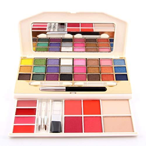 7002-008Y Boîte de maquillage multifonction Ombre à paupières + Rouge + Palette Anti-cernes Glitter Cosmetic Kit Shimmer Eyeshadow Pallete - 01#