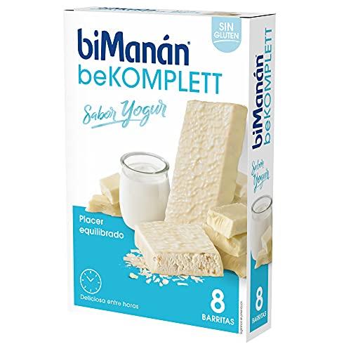 BiManán beKOMPLETT Barritas sabor Yogur. Ricas en proteína