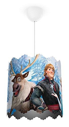 Philips Disney Frozen (Die Eiskönigin) Pendelleuchte, hellblau, 717510116