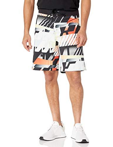 "Reebok CrossFit Epic Cord lock- Amrap Shorts, Vivid Orange, 27"""