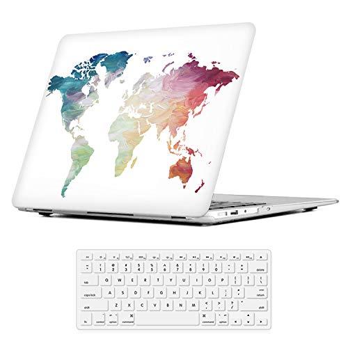 iLeadon MacBook Pro Funda de 13 pulgadas Modelo A1278 Carcasa de cubierta dura + Tapa del teclado para MacBook Pro 13