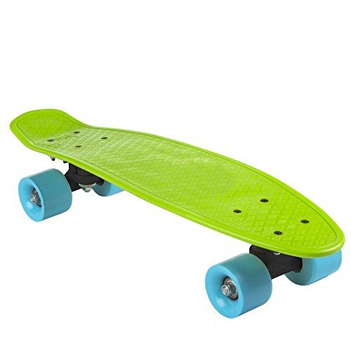 Colorbaby Monopatín con ruedas PVC, color verde, 55 cm (75831)