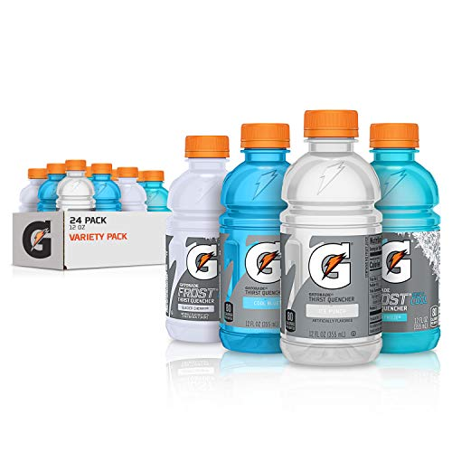 Gatorade Thirst Quencher, Frost Variety Pack, 12 Fl Oz (Pack of 24)