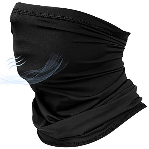 Cloth Face Cover Gaiter Neck Bandana Scarfs Tube Cooling Neck Wrap Multifunction