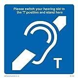 Viking signos id1332-s15-v con instrucciones de inducción magnética Símbolo Sign, vinilo, 150mm...