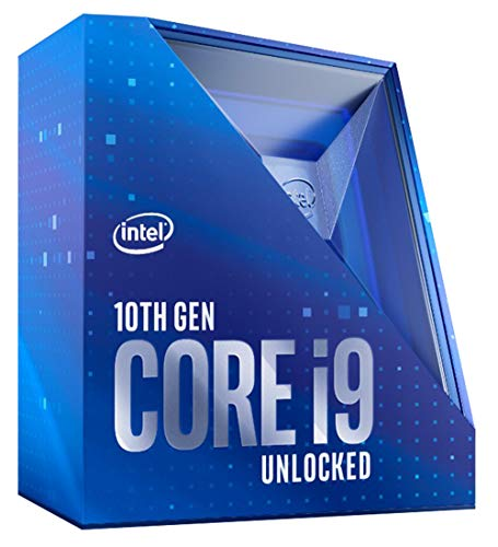 Intel Core i9-10900K Desktop Processor 10 Cores up to 5.3 GHz Unlocked  LGA1200 (Intel 400 Series Chipset) 125W