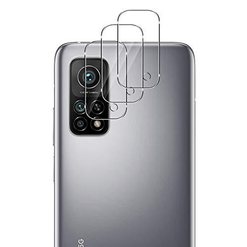 GEEMEE Protector de Lente de cámara para Xiaomi Mi 10T Pro/Xiaomi Mi 10t, Cristal Templado Película Vidrio Templado 9H Alta Definicion Glass Screen Protector Film (Transparente)