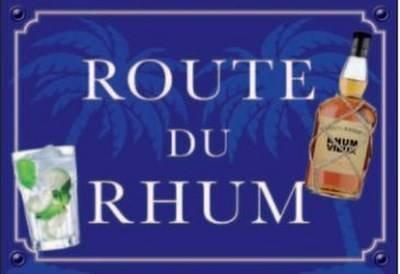 Plaque Métal Route Du Rhum