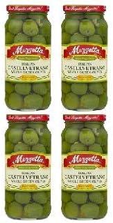 Mezzetta Italian Castelvetrano Whole Green Olives, 10 oz (2 count) (Pack of 2)