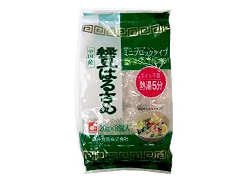 森井食品 緑豆春雨 8P(20g×8P)×10個
