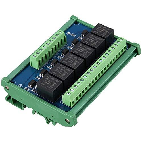 LTH-GD Relais 6 Module de Relais de canaux de Niveau de Niveau élevé Déclenchement Optocoupleur Isolation 5V Module de Relais Porte-amplificateur de Signal PLC commutateur de Relais WiFi
