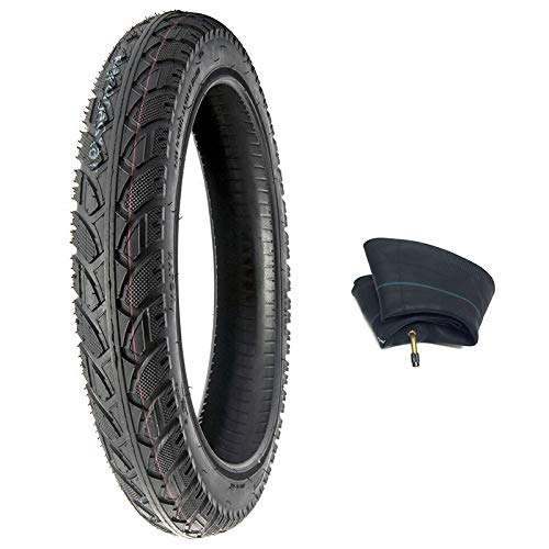 MMG Combo Tire and Inner Tube Size 12x2.125 for Kids Bikes, Electric Bikes, Foldable Fits RoyalBaby, Schwinn, Dynacraft, Huffy