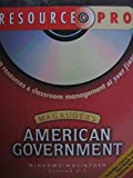 Magruder's American Government Resource Pro CD-ROM Prentice Hall Teaching Resources & Classroom Management