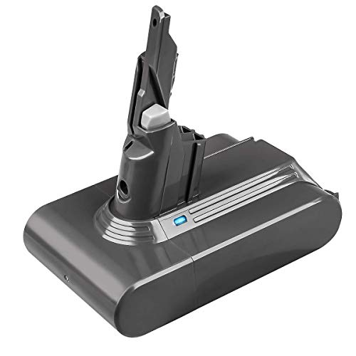 TURPOW V7 - Batería de litio para aspiradora (21,6 V, 4000 mAh, repuesto para V7 Series Animal compatible con Dyson V7 Motorhead Pro Dyson V7 Trigger Dyson V7 Car+Boat 214730-01)