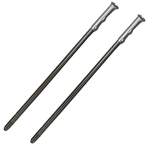 2 Pack Silver LCD Touch Screen Stylus Pen Replacement Parts for LG Stylo 5,Stylo 5 Plus,Q720 Boost AT&T TracFone Verizon Spectrum Xfinity T-Mobile Sprint Cricket Wireless