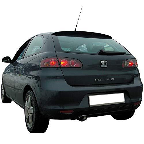 Inoxcar SEIB.15.120 100% Inox Sportauspuff für Seat Ibiza 6L 1.9 SDi/TDi 2002, 120 x 80 mm