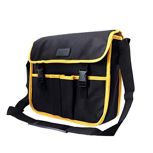 Tool Bag,CinturóN Para Herramientas Multifuncional Oxford Paño Electricista Herramientas Bolsa de cintura Banda de la bolsa de almacenamiento (Color : E)