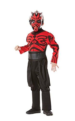 Rubies`s - Disfraz Infantil de Darth Maul Musculoso (881236-S)
