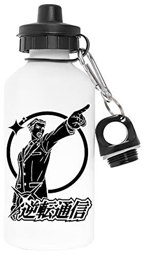Asso Avvocato Senza Inquinanti Bianca Bottiglia d'acqua Alluminio Per Esterni Pollutant Free White Water Bottle Aluminium For Outdoors