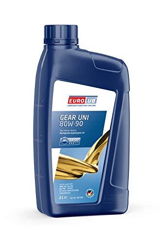 Preisvergleich Produktbild EUROLUB GEAR UNI SAE 80W-90 Getriebeöl,  1 Liter