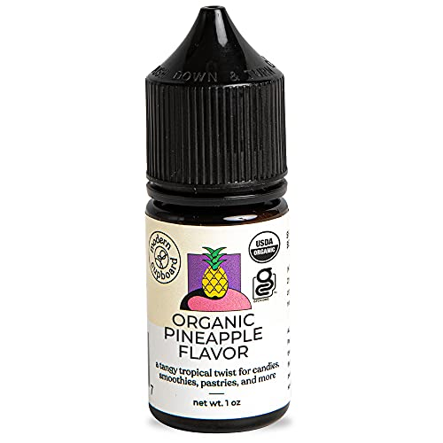 Pineapple Flavoring - 1oz - Modern Cupboard, Pineapple Extract for Baking, Candy Flavoring Oil, Lipgloss Flavors Oil Non-GMO, Made in the USA