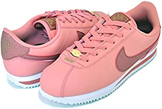 [ナイキ] コルテッツ ベーシック プレミアム ガールズ バレンタイン CORTEZ BASIC PREMIUM (GS) pink quartz/canyon pink cd6909-600 Valentine's Day [並行輸入品]