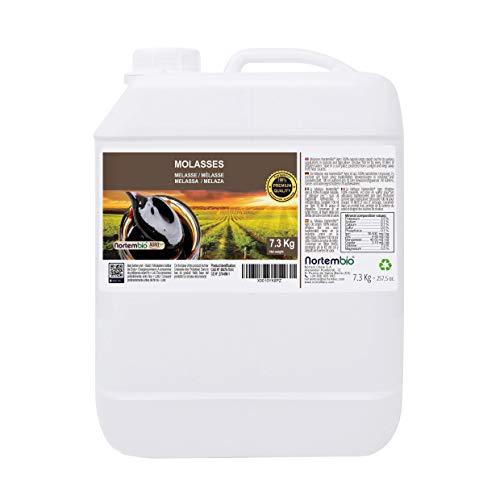 Nortembio Agro Melaza 7,3 Kg. 100% Natural. Favorece el Crecimiento de Cultivos. Uso Universal. No Sulfurada. Producto CE.