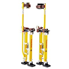 Adjustable height from 24 in. to 40 in. Padded calf braces and dual spring action. Heavy duty reinforced rubber soles for long life. Rated to 225 lbs. All repair parts are available and field replaceable.
