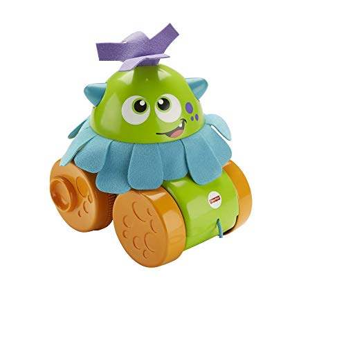 Fisher-Price FHG01 Walk and Whirl Monster, Toddler Pull Along Toy with...