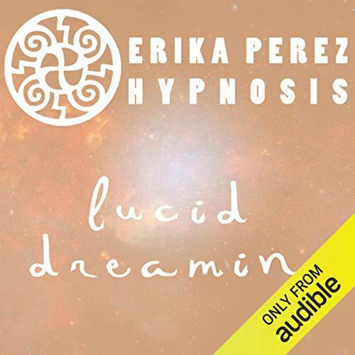 Diseño de la portada del título Suenos Lucidos Hipnosis