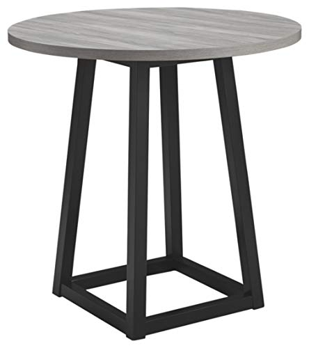 Signature Design by Ashley Showdell Counter Height Dining Room Table, Gray/Black