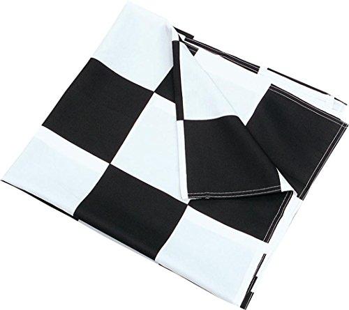 Chequered Flag Black/White 3' x 5'
