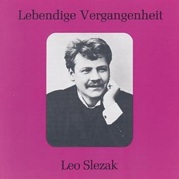 Lebendige Vergangenheit - Leo Slezak