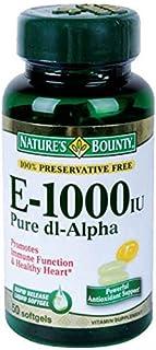 Nature's Bounty Vitamin E, 1000 I.U.