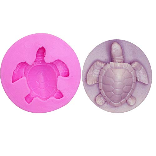 3D Turtle Silicone Cake Topper Mould