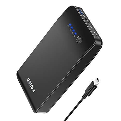 CHOETECH 20000mAh Power Bank Batteria Portatile con 18W Power Delivery Caricabatteria Portatile Batteria Esterna per Apple iPhone XS/XS Max/X/8/8 Plus, Huawei, Samsung, Xiaomi, Nintendo Switch e Altri