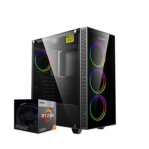 Ordenador Sombremesa Gaming AMD Ryzen 5 3400G 3.70 GHz, 16Gb Ram 3200MHz, T.Gràfica Radeon Vega 11, SSD M.2 500GB,HDMI,USB 3.0,Windows 10