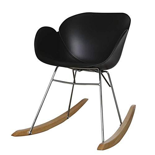 OSALADI vrijetijdsstoel stoelen kruk lounge vintage schommelstoel vrijetijdsstoel thuis balkon slaapkamer rugleuning