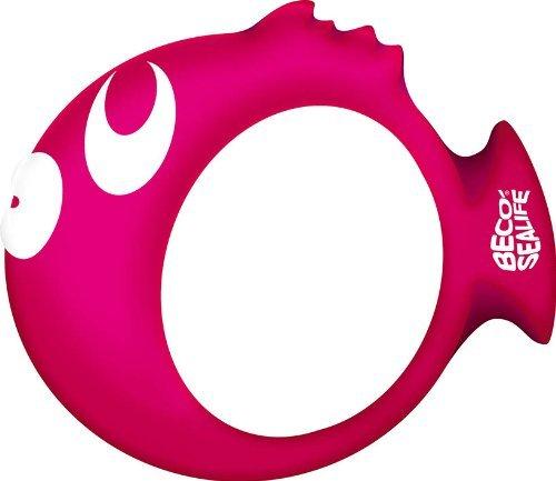 BECO Tauchring Sealife Tauchen Ring Aqua Zubehör Wasser Fitness pink by Beco