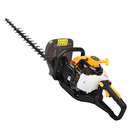 Best Deals! wangzi Cordless 2-in-1 Lithium Battery Hedge Trimmer - Gasoline Hedge Trimmer Pruning Ma...