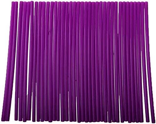 Lvcuyy Cubreradios de motocross para moto universal Motorcycle Motor Motor Bike MotoCrsWs Rays Skins Cubierta para círculos para llantas de 19 – 21 pulgadas 48 – 53 mm-violeta