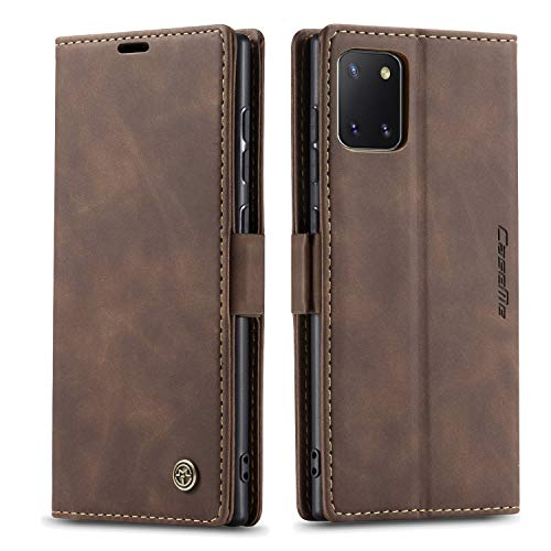 Bpowe Galaxy Note 10 Lite (2020) Case,Galaxy A81 Leather Wallet Case