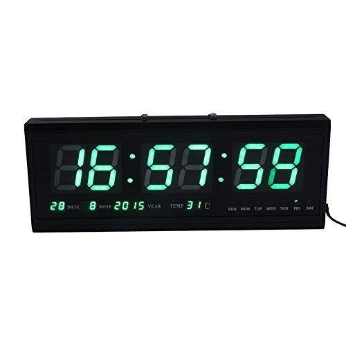Wecker Uhr LED Konto Timer Wanduhr Uhr LED Digital/Countdown/vorne Uhr mit Fernbedienung, wanduhr digital digital wanduhr digitale uhr digitale wanduhr(2)