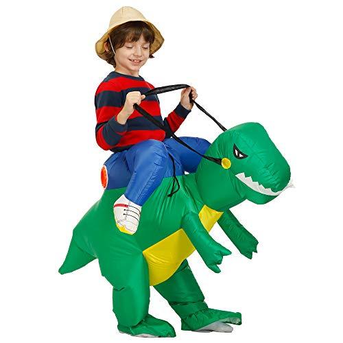 VafePd Costume Gonflable De Dinosaure Déguisement Halloween pour Fête Festival Soirée pour Enfants Adultes Monstre Taille Enfant